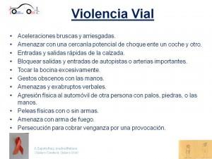 violencia vial
